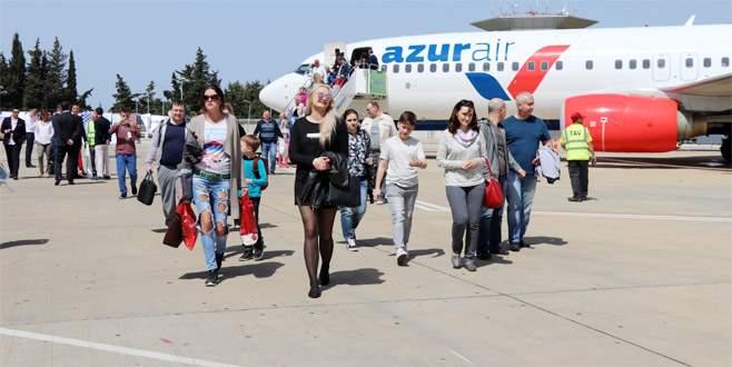 Antalya'ya ilk 7 ayda 5 milyon turist