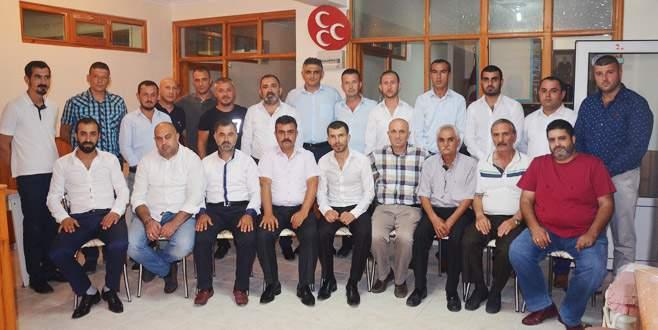 MHP Mudanya'da yeni yönetime onay