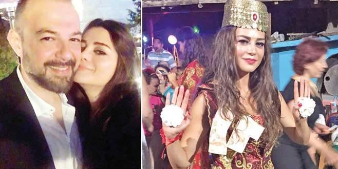 Güzel oyuncu Bursa'ya gelin oluyor