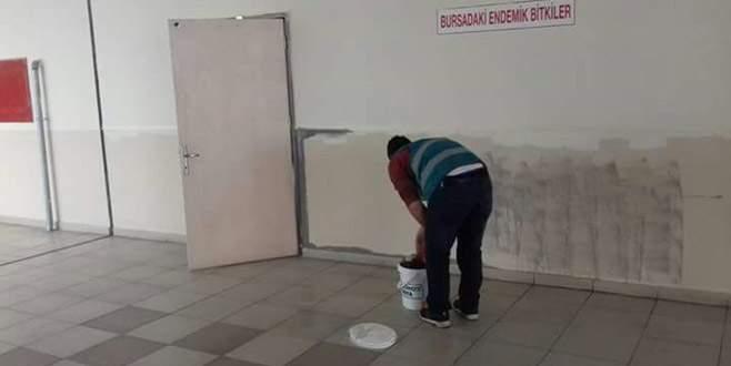 Mahkumlar okulları renklendiriyor
