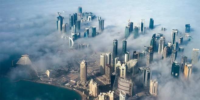 Körfez ülkelerinden Katar'a 9 acil hava koridoru