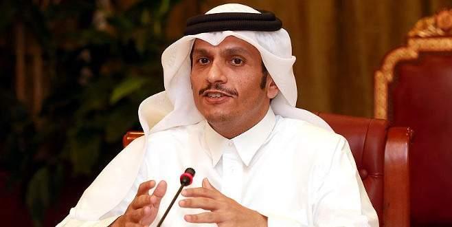 'Katar'ın ilk günden bu yana tutumu net'