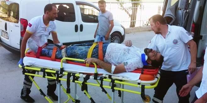 İnşaat işçisi balkondan düşerek yaralandı