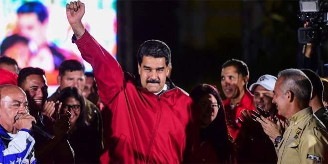Maduro zaferini ilan etti