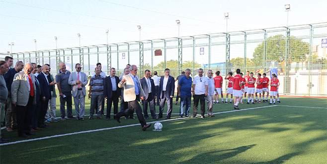 Büyükşehir`den spora bir tesis daha