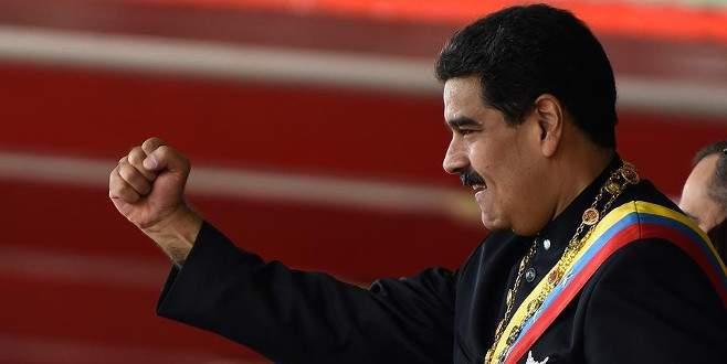 Maduro'dan ABD'nin yaptırım kararına tepki