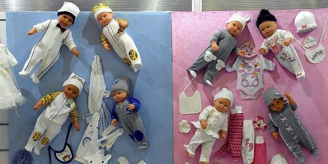 Ortadoğu'ya bebe ve çocuk giyimi ihracatı arttı
