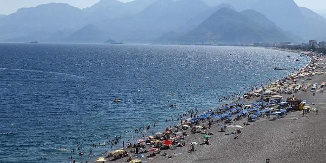 Türkiye'ye gelen turist sayısı yüzde 14,5 arttı