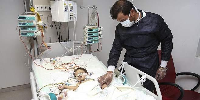 Organları ters bebek nakille hayata tutundu