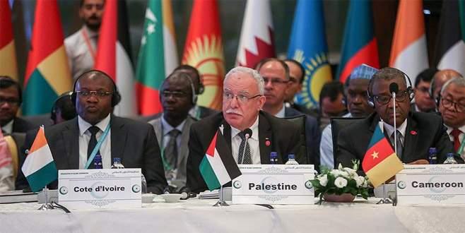 İİT İsrail'in provokatif eylemlerini güçlü bir şekilde kınadı