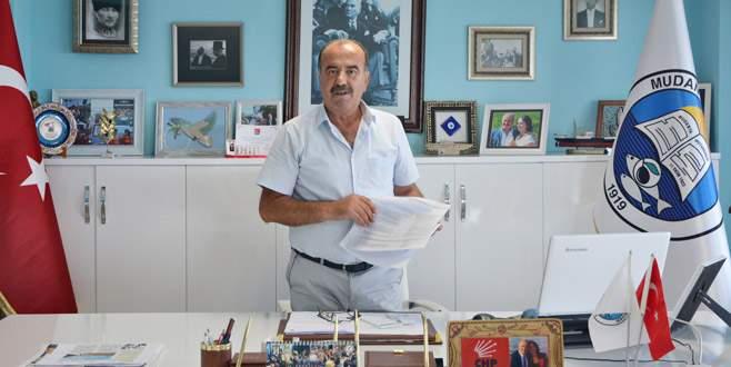 Belediyeden alacağı olan esnafa Türkyılmaz'dan çağrı