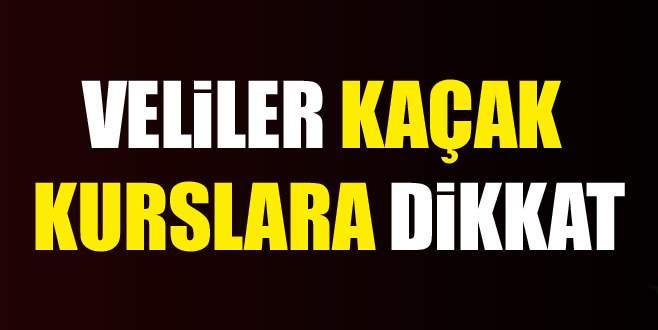 Kaçak kurslar Bursa'da cirit atıyor