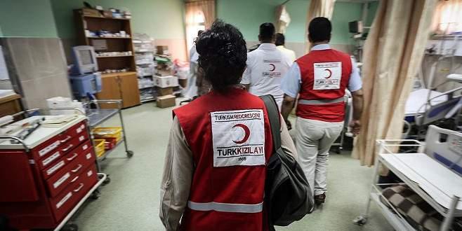 Türk Kızılayının Yemen'e tıbbi yardımları Aden'e ulaştı