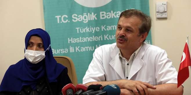 Bursa'da kamu hastanelerindeki ilk organ nakli