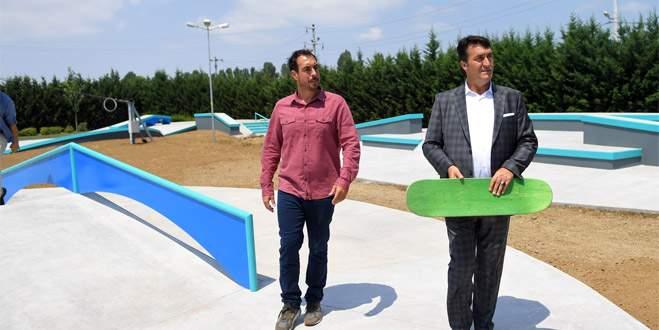 Türkiye'nin ilk olimpik kaykay pisti açılıyor