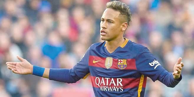 Neymar Barça'dan koptu!