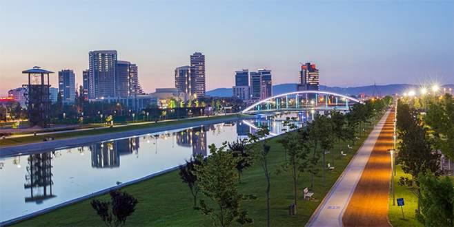 Bursa, 'yaşam kalitesi en yüksek' 21. şehir