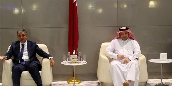 11. Cumhurbaşkanı Gül Katar'da