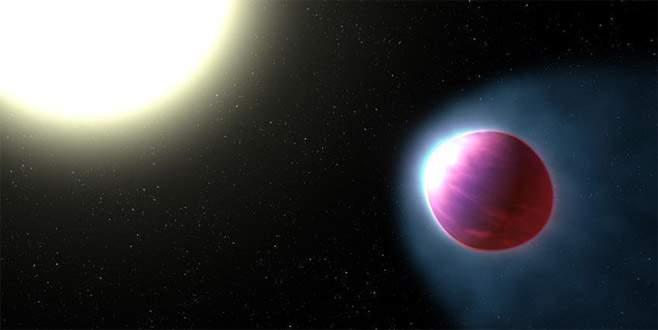 Güneş sistemi dışında 'öte-gezegen' keşfedildi