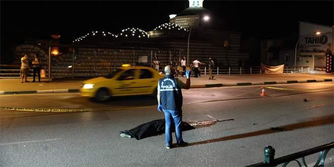 Bursa'da otomobil yayaya çarptı: 1 ölü
