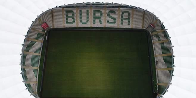 Bursaspor'un stadı hibrit çime kavuşuyor