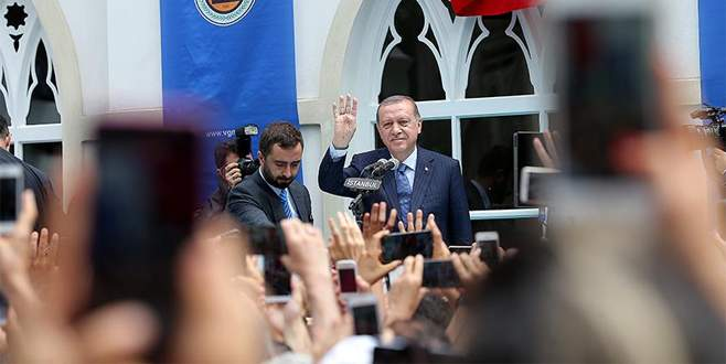 Cumhurbaşkanı Erdoğan, Yıldız Hamidiye Camisini ibadete açtı
