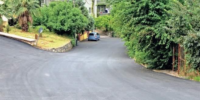 Çekirge'de sokaklar yenilendi