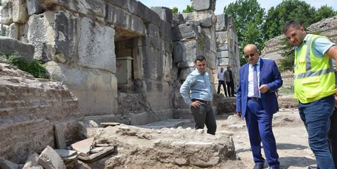 Bursa'da 2000 yıllık tarih gün yüzüne çıkıyor