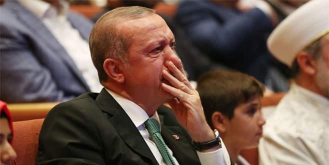 Cumhurbaşkanı gözyaşlarına hakim olamadı