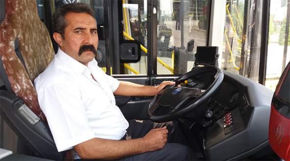 Otobüs şoförü kart yüzünden darp edildi