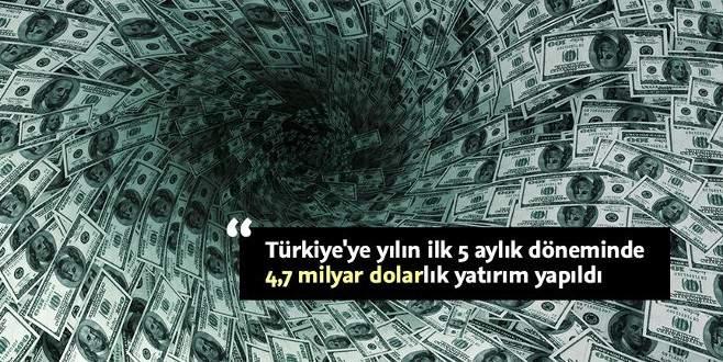 Türkiye'ye 5 ayda 5 kıtadan yatırım