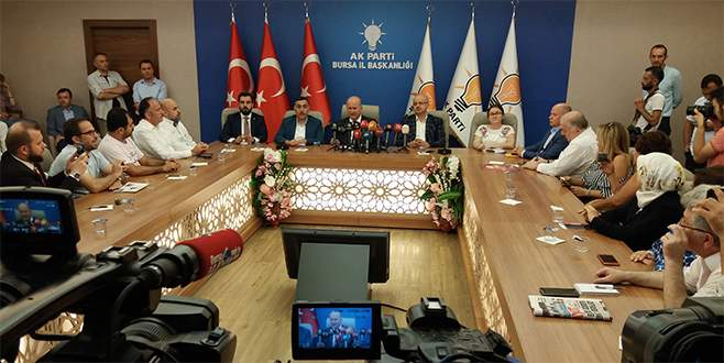 AK Parti Bursa İl Başkanı Torun: 'Görevimi bırakıyorum'