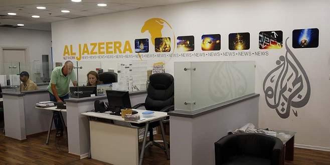 Al Jazeera'dan 'İsrail'in kapatma kararına' kınama