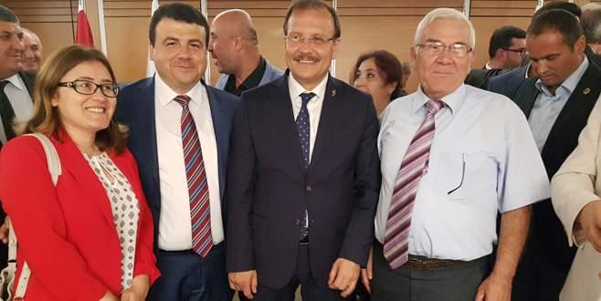BAL-GÖÇ'ten Çavuşoğlu'na ziyaret