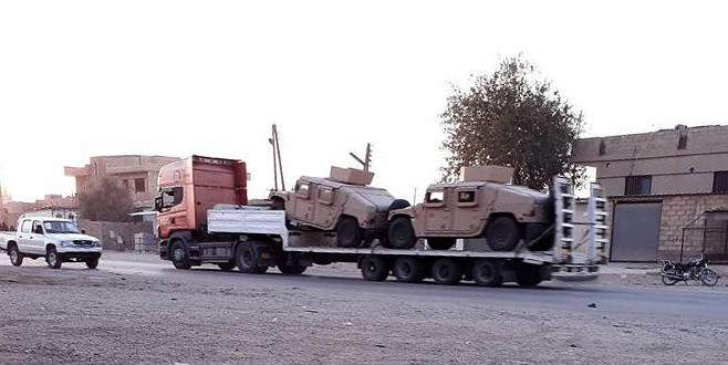 ABD'den PKK/PYD'ye askeri yardım sürüyor