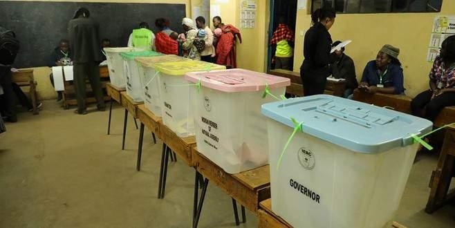 Kenya'da halk sandık başında