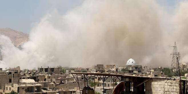 Esad rejimi geçen ay en az 244 varil bombası attı