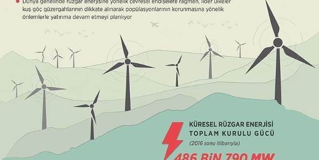 Dünya çevresel önlemlerle 'rüzgar'a koşuyor