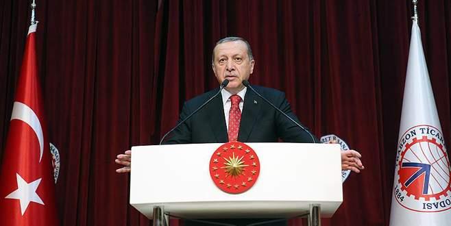Cumhurbaşkanı Erdoğan: Bizi aldatmanız mümkün değil