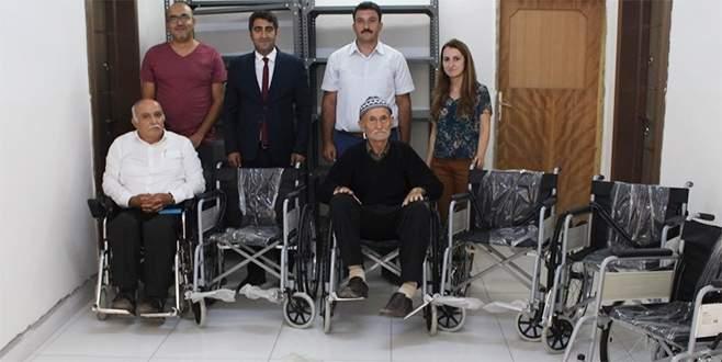 Bursa'da bir vefa örneği: Kendisine yıllar önce verilen tekerlekli sandalye…