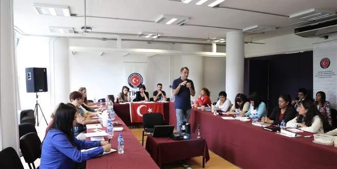 TİKA'dan Meksikalı eğitimcilere eğitim