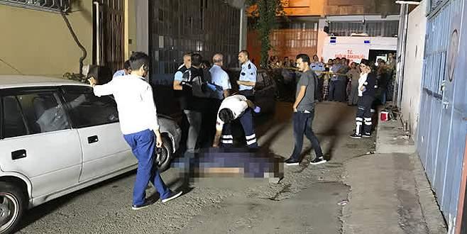 Bursa'da terastan düşen kişi öldü