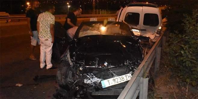 3 ilde trafik kazaları: 1 ölü, 17 yaralı
