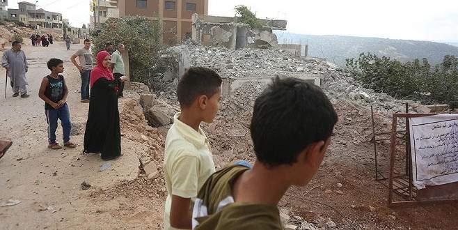 İsrail güçleri Filistinlilere ait 36 evi yıktı