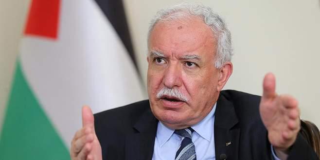 Filistin Dışişleri Bakanı Maliki'den ABD'ye çağrı