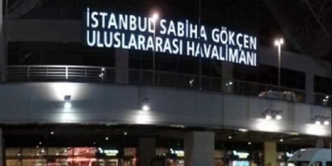 Sabiha Gökçen'de pist kapatıldı! Uçaklar Bursa'ya yönlendirildi