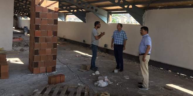 İlkokul inşaatında sona gelindi