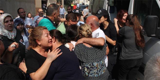 Bursalı şehit polise gözyaşı