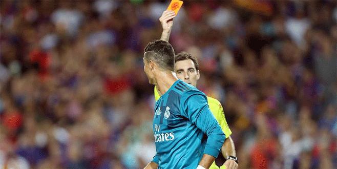 Ronaldo'ya 'Süper Kupa' cezası
