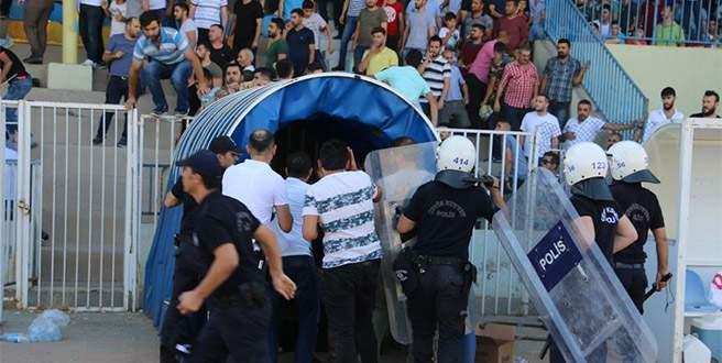 Ziraat Türkiye Kupası maçında kavga: 7 yaralı